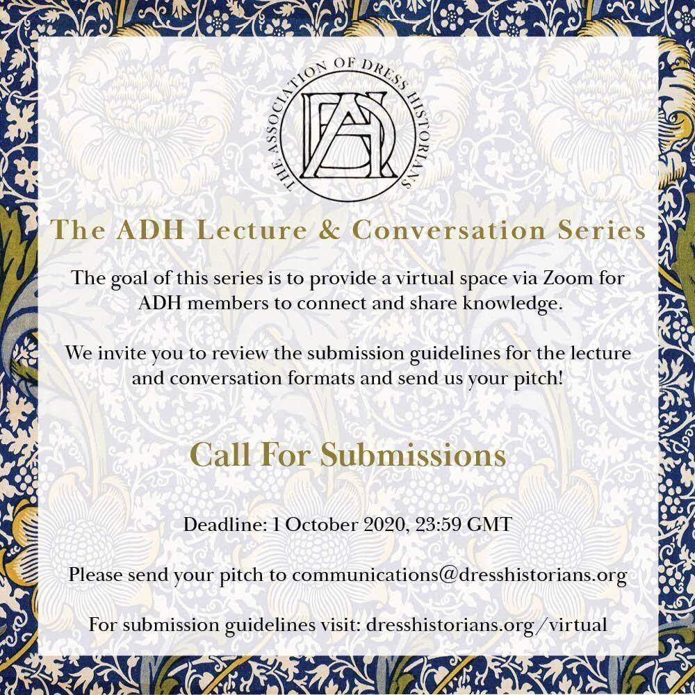 ADH Lecture & Conversation Series