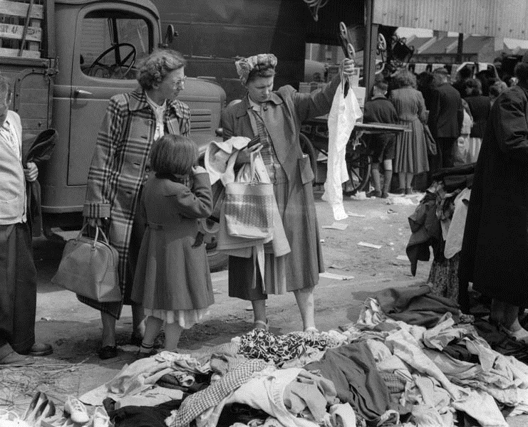 Knitting History Society : The look of austerity conference on post war dress