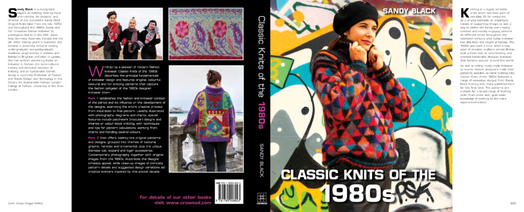 Classic Knits of the 1980s by Sandy Black Book Cover