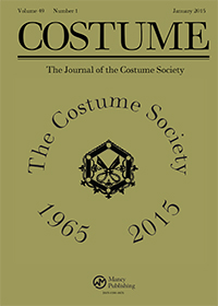Costume Society Journal 1965-2015