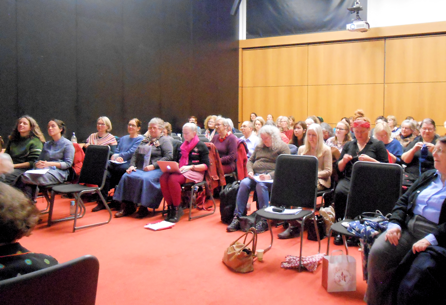 Delegates at the Knitting History Forum AGM & Conference 2018
