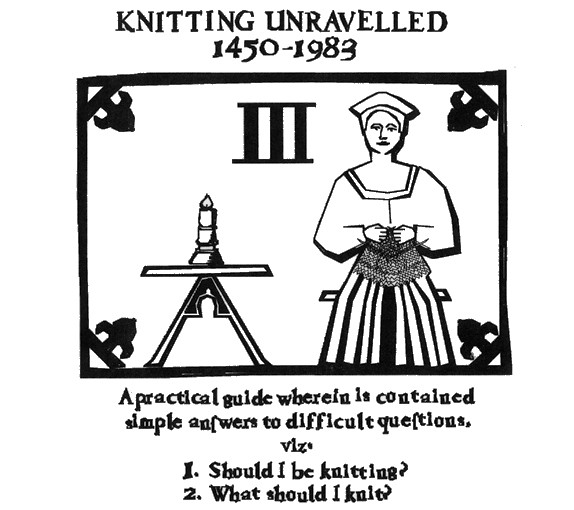 Knitting Unravelled 1450-1983