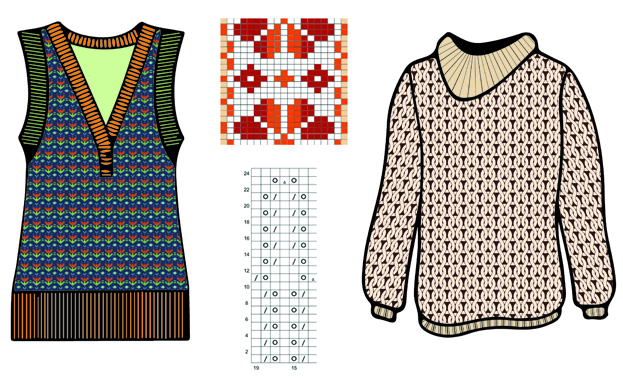 Illustrator for Knitwear Designers
