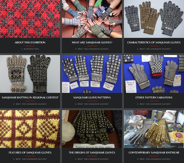 Sanquhar Gloves: A Living Scottish Tradition, Online Exhibition, Centre for Knit & Crochet