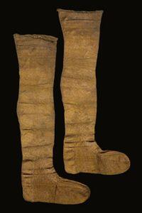Textile Research Centre Leiden Seventeenth Century Silk Stocking Texel 2