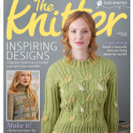 Emma Vining's 'Gladioli' made the cover of The Knitter magazine