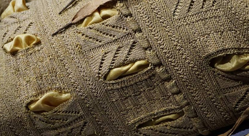 Sixteenth Century Knitted Silk Trunkhose