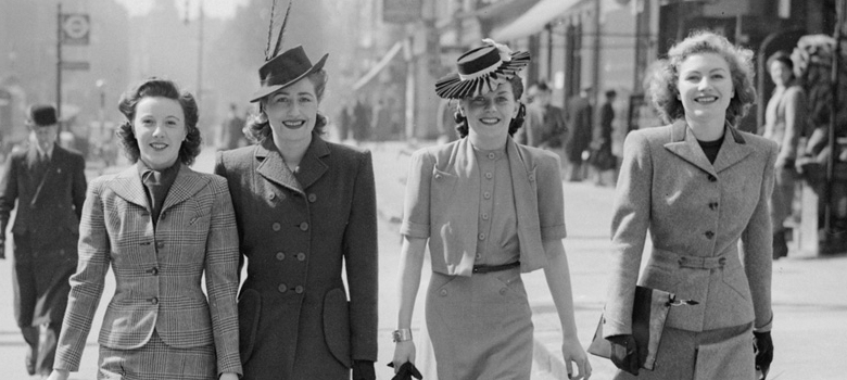 Fashion on the Ration - 1940s Street Style Imperial War Museum Exhibition