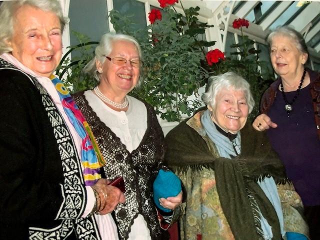 Kirstie Buckland, Lise Warburg, Karen Finch and Ann Saunders