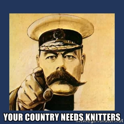 The Kitchener Stitch: Knitting in Wartime Study Day